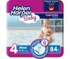 Helen Harper Подгузники Baby Maxi (7-18 кг) 84 шт.