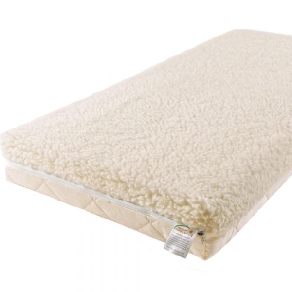 Матрас Babysleep класса Люкс BioLatex Cotton 140x70класса Люкс BioLatex Cotton 140x70Экологически чистый матрас для новорожденных двусторонней жесткости. Не имеет аналогов на российском рынке, отличается полным отсутствием в производстве клеевых материалов.  Жесткая сторона - 100% натуральный материал, кокосовая плита производства концерна ENKEV (Голландия), с полной латексной пропиткой, прочно скрепляющей кокосовые волокна, увеличивающей долговечность и придающей пружинящие свойства. Обладает естественной вентиляцией, гигиеничностью и антиаллергенностью.   Обеспечивает матрасу жесткость и долгий срок эксплуатации.  Основа матраса: блок «Naturalform», производства итальянской фабрики «GommaGomma: материал, имеющий специфическую пористую внутреннюю структуру, обладающий отличной воздухопроводимостью и гигиеничностью, отсутствием избыточной влажности и вредных микроорганизмов.   Мягкая сторона - латексная плита производства итальянской фабрики «Ecolatex». Эластичная, мягкая и гипоаллергенная, латексная пена оптимально адаптируется к форме тела и головы человека, производится из млечного сока бразильской гевеи. Это идеальный материал для здорового и естественного сна, благодаря присутствию в структуре воздушных микро-сот, сообщающихся между собой и обеспечивающих отличную внутреннюю вентиляцию, гигиеничность и поддержание стабильного температурного фона.  Уникальные двойные чехлы являются отличительной особенностью матрасов «BabySleep».   Внутренний чехол из 100 % хлопка, фиксирующий компоненты матраса, увеличивает срок эксплуатации, позволяет безопасно снимать и надевать внешний чехол, без малейшего риска деформации или нарушения состава матраса, был специально разработан для компании «BabySleep».  Внешний чехол имеет трехстороннюю молнию, позволяющую максимально быстро и легко переворачивать чехол на любую сторону жесткости. Отличается повышенной комфортностью, благодаря функции «зима-лето».  Сторона «лето» - «Lino» высококачественная ткань итальянской фабрики «STELL