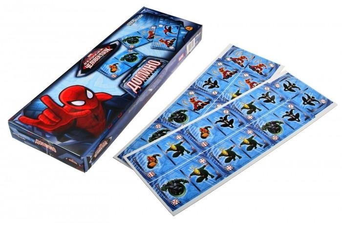 Настольные игры Step Puzzle Домино Человек-паук 28 карточек