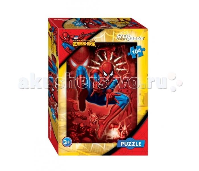 Пазлы Step Puzzle Пазл Человек-паук 104 элемента наушники hifiman re 400