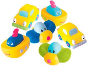 Игрушки для ванны Baby Whales Набор для купания Детский транспорт детский транспорт интернет магазин