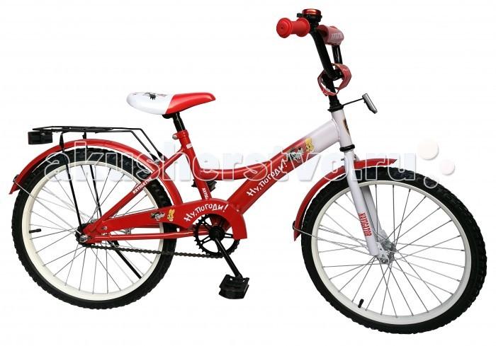 Велосипед двухколесный Navigator Ну, Погоди Kite-тип 20Ну, Погоди Kite-тип 20Велосипед двухколесный Navigator Ну, Погоди Kite-тип 20 подарит радость вашему ребенку.   Особенности:  Однокомпонентный кареточный узел Камеры из натуральной резины Стальные обода Покрышки 20 х 2,125 Задний ножной тормоз Вставки в колесах Широкие страховочные колеса Звонок Возраст от 7 до 10 лет<br>