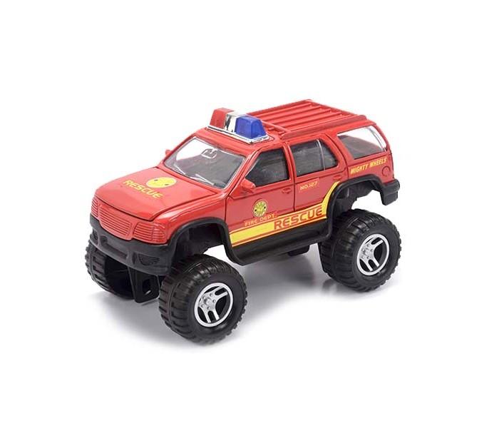 Машины Mighty Wheels Soma Пожарный внедорожник 18 см