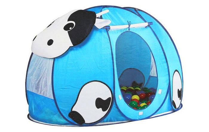 Calida Дом-палатка + 100 шаров КороваДом-палатка + 100 шаров КороваДом-палатка Calida Корова  это личное пространство для вашего ребенка , где он может играть прятаться и заниматься своими делами . При желании палатку можно закрыть благодаря специальной дверце, которая, при необходимости, также легко убирается. Сама палатка имеет самораскладывающийся спиральный каркас. Ткань-покрытие выполнена из нейлона, благодаря чему за Коровой легко ухаживать и содержать ее в чистоте. Так же в комплекте есть 100 разноцветных шариков , которые не оставят равнодушным ни одного ребенка.   В комплект входит Палатка , нейлон 130х90х85 100 шаров ( 7 сантиметров диаметром ) пластмасса<br>