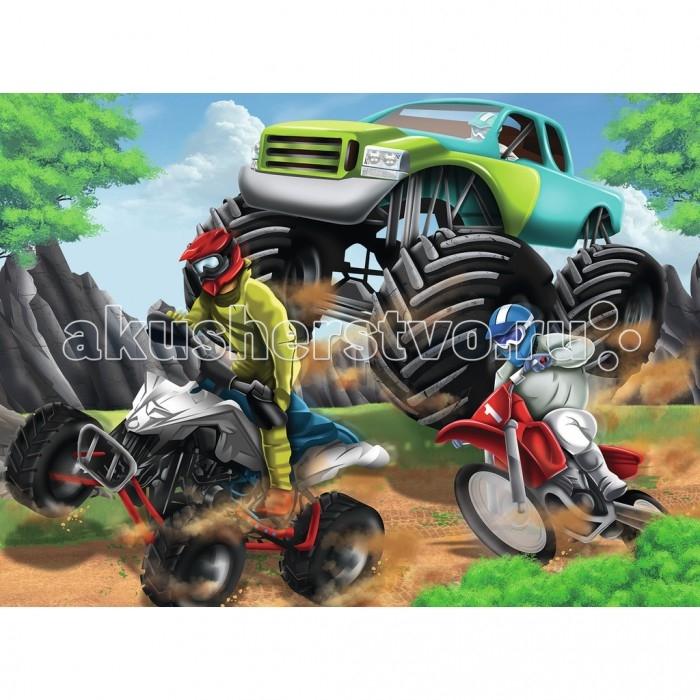 Пазлы Ravensburger Пазл Мощные машины XXL 200 элементов какой мотоцикл бу можно или квадроцикл за 30 000