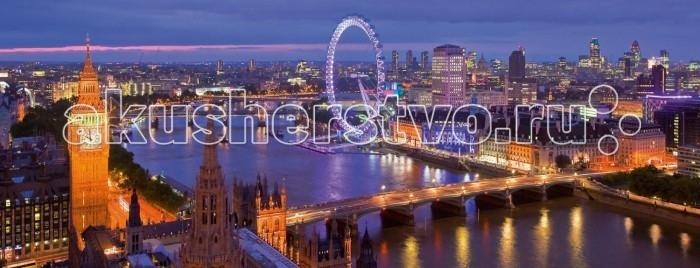 Пазлы Ravensburger Пазл панорамный Ночной Лондон 1000 элементов 1000 дет лондон