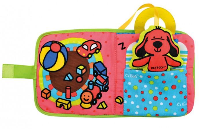 Книжки-игрушки KS Kids Книжка-игрушка Первая книжка развивающая игрушка ks kids музыкальная сова