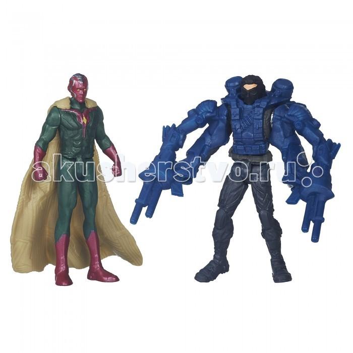 Игровые фигурки Avengers Игровой набор из 2 фигурок Мстителей: Капитан Америка и Зимний солдат avengers машина на радиоуправлении капитан америка