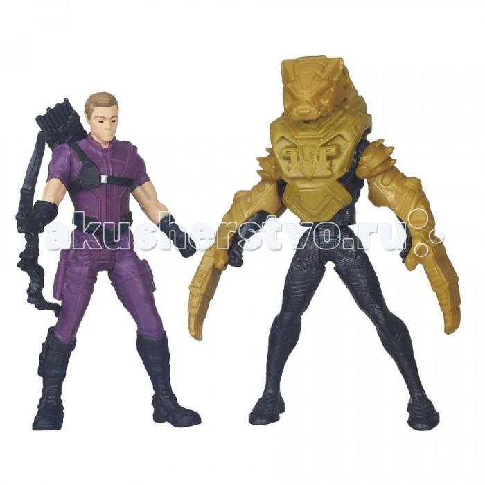 Игровые фигурки Avengers Игровой набор из 2 фигурок Мстителей: Человек Паук и Капитан Америка avengers машина на радиоуправлении капитан америка