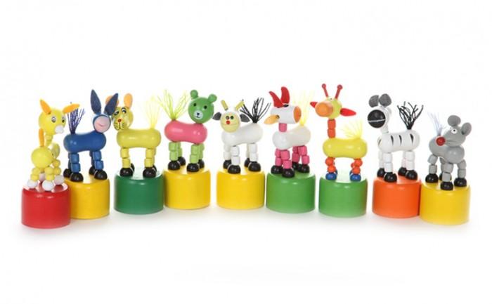 Деревянные игрушки Папа Карло Дергунчик Животные