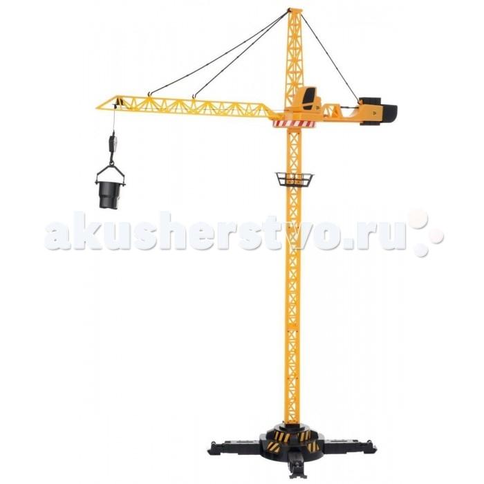 JCB Кран на дистанционном управленииКран на дистанционном управленииКран JCB на дистанционном управлении высотой целых 120 см, является уменьшенной копией своего прототипа – современной строительной техники JCB. Ребенок почувствует себя настоящим строителем с новым супер-реалистичным башенным краном JCB с пультом управления! Игрушка позволяет поднимать и опускать на нужную высоту строительные материалы, двигать стрелу крана вперед или назад, поворачивать кран вокруг своей оси и аккуратно опускать кубики на нужное место.   Кран JCB на дистанционном управлении cделан из высококачественной прочной пластмассы, что позволит ещё дольше играть с ним, не боясь поломок. Кран имеет прочную устойчивую конструкцию, что не позволит ему случайно упасть при транспортировке грузов. Кроме того, кран очень легко и быстро собирается и разбирается – достаточно отцепить три крючка, и стрела сложится.   В комплекте: разные приспособления для подъёма грузов, пульт управления.  Для работы крана необходимы 3 батарейки 1,5V AA. В комплект не входят.<br>