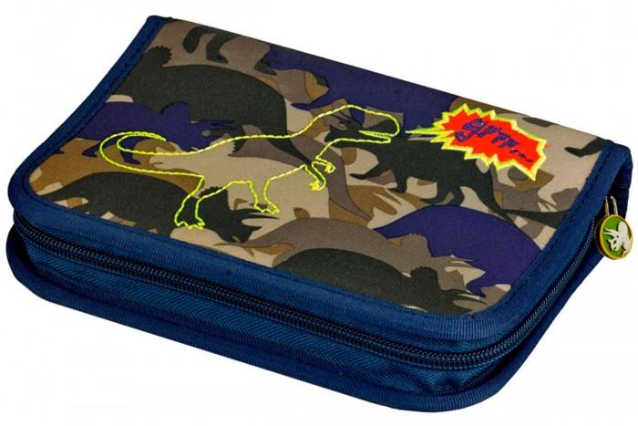 Spiegelburg Пенал T-Rex World с наполнением 11836Пенал T-Rex World с наполнением 11836Пенал с наполнением T-Rex World – идеальный вариант для учеников начальной школы. Ваш малыш будет доволен, ведь здесь есть все, что ему может понадобиться.  В комплекте:    Цветные карандаши Lyra Osiris 17 штук; Черные карандаши 2 штуки; Ластик; Точилка; Линейка.  Особенности:  Размер: 20 x 13,5 x 3 см<br>
