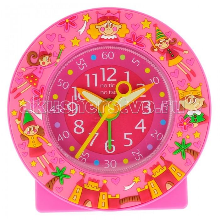Часы Baby Watch Будильник Ptit Fee 600809Будильник Ptit Fee 600809Baby Watch Будильник Ptit Fee 600809 украшенный замками, феями и принцессами. Это классические часы в довольно ярких розовых тонах. Большие цифры, понятные даже малышам.  Основные характеристики: возраст от 6 лет батарейка АА (не входит в комплект) люминесцентные стрелки тихий ход гарантия 2 года. Все модели часов разработаны во Франции, прошли проверку в независимой лаборатории и сделаны из безопасных материалов.<br>