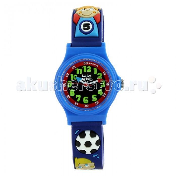 Часы Baby Watch Наручные Abc Soccer 605538Наручные Abc Soccer 605538Baby Watch Часы наручные Abc Soccer 605538 с рельефным рисунком. Часики упакованы в подарочную упаковку. Идеально сидят на запястье.  Основные характеристики: возраст от 6 лет водонепроницаемые ударопрочные кварцевый механизм батарея Sony(срок службы два года) гарантия 2 года в комплекте обучающие часы из картона и наклейки. Размеры: диаметр 2,5 см, ремешок 19 см  Все модели часов разработаны во Франции, прошли проверку в независимой лаборатории и сделаны из безопасных материалов.<br>