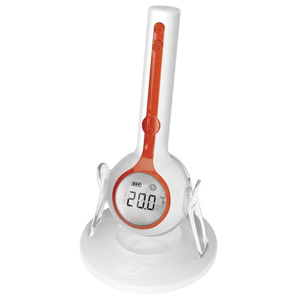 Термометр Brother Max цифровой 3 в 1цифровой 3 в 1Цифровой термометр 3 в 1 Brother Max включает в себя три функции: можно измерять температуру на лобике и в ушке , а также температуру воздуха в помещении.  Особенности:  Автоматическое измерение температуры уха, лба и комнатной температуры; Точность до 0,1 градусов С; Измерение температуры всего за 1 секунду; Для маленьких детей и взрослых; Достаточно протирания, не требуются крышки чувствительного элемента; Автоматическая подсветка, облегчающая считывание показаний; Крепление к плоской поверхности в прилагаемой подставке; Сертифицирован как медицинский прибор для маленьких детей.<br>