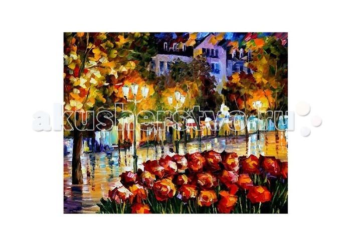 Картины по номерам Molly Картина по номерам Л.Афремов Цветы Люксембурга  картина по номерам цветной тм gx7844