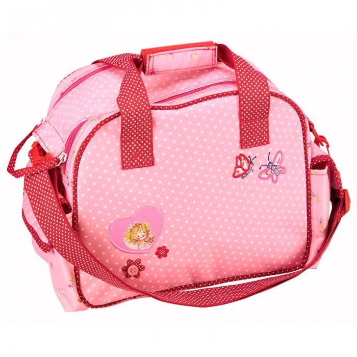 Spiegelburg Спортивная сумка Prinzessin Lillifee 30183Спортивная сумка Prinzessin Lillifee 30183Спортивная сумка Prinzessin Lillifee имеет вместительное внутреннее отделение, ручки с фиксатором на липучке и съемный плечевой ремень. Основной отсек на молнии.  Особенности:   Размер: 30 х 24 х 16 см<br>