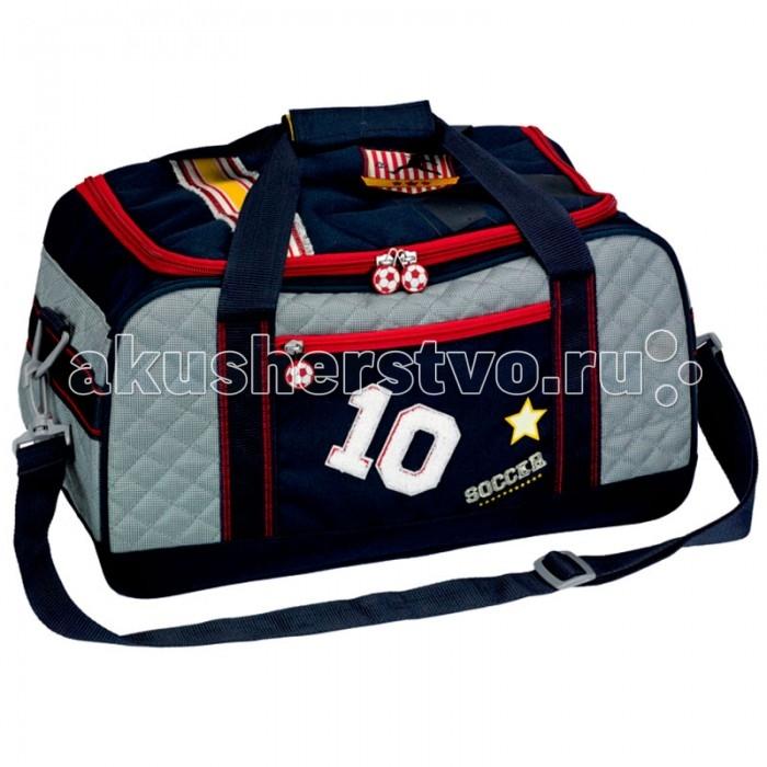 Spiegelburg Спортивная сумка Soccer 10883Спортивная сумка Soccer 10883Отличная сумка для занятий спортом для активных мальчиков. Практичная и внутренняя планировка спортивной сумки Soccer позволяет идеально разместить обувь и спортивную одежду отдельно друг от друга.   Особенности:   Размер: 42 х 23 х 22 см<br>