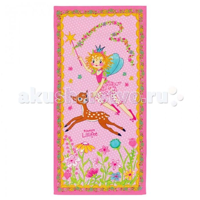 Spiegelburg Полотенце банное Prinzessin Lillifee 93886Полотенце банное Prinzessin Lillifee 93886Превосходное банное полотенце Prinzessin Lillifee яркой расцветки. Выполнено из мягкого натурального материала.   Особенности:   Размер: 75 x 150 см<br>