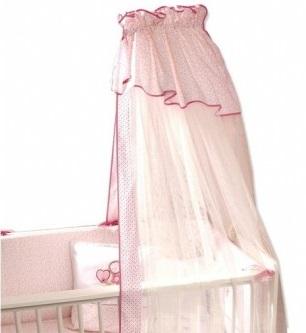 Балдахин для кроватки Funnababy GrandmaGrandmaНежный балдахин для детской кроватки Funnababy Grandma, сделанный из тюля, будет радовать Вас своим аристократическим внешним видом, а Вашего малыша – надежной защитой от яркого света, мух и комаров.  Длина- 5 метров.<br>