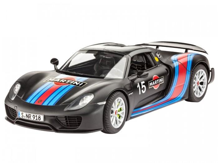 Конструкторы Revell Автомобиль Porsche 918 Spyder Weissach Sport Version (120 делатей) автомобиль hoffmann porsche 918 spyder concept 1 24 серебристый