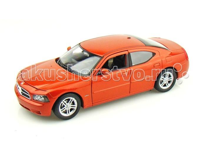 Машины MotorMax Модель автомобиля Dodge Charger R/T (Масштаб 1:24) модель автомобиля 1 24 motormax dodge viper srt10 racing 2003