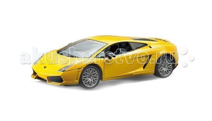 Машины MotorMax Модель автомобиля Lamborghini Gallardo (Масштаб 1:60) коллекционная модель motormax laмborghini gallardo superleggera цвет черный металлик масштаб 1 24