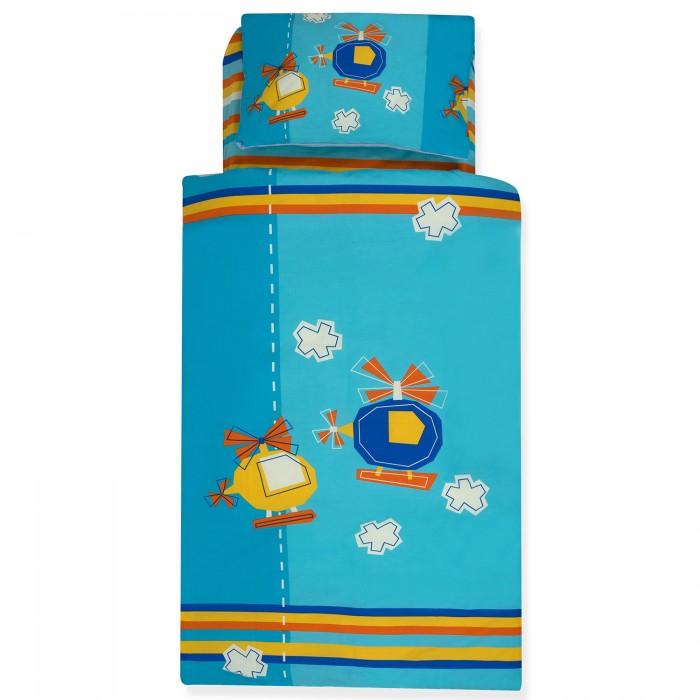 Комплект в кроватку Ups Pups Вертолётики (6 предметов)Вертолётики (6 предметов)Постельный набор в детскую кроватку Ups Pups Вертолётики состоит из 6 предметов.   Наполнитель 100% Hollofil allerban (антибактериальный, антиклещевой и противогрибковый наполнитель, который заботится о состоянии здоровья малыша).  В комплект входит:   пододеяльник (100 х 140 см)  одеяло (100 х 140 см)  наволочка (40 х 60 см)  подушка (40 х 60 см)  простынь на резинке (60 х 120+16 см)  бампер - 4 части (360 х 45см)<br>
