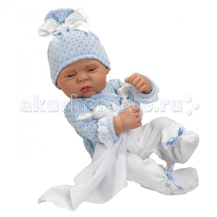 ASI Кукла Лулу 40 см 2320040Кукла Лулу 40 см 2320040ASI Кукла Лулу 40 см 2320040  очарует Вас с первого взгляда!  Кукла-реборн без волос, можно купать, в голубом комплекте и шапочке, прилагается одеяльце, полностью выполнен из винила очень приятного на ощупь, её можно купать и переодевать в одежду для новорожденных.  Испанские куклы уже давно завоевали сердца отечественных потребителей, благодаря своему высокому качеству!  Имеет именной Сертификат (Свидетельство о рождении).  Особенности:  кукла ASI сделана очень качественно.  Без запаха.   Используется безопасный твердый винил.  Видна прорисовка мельчайших подробностей тела, рук и ног.<br>
