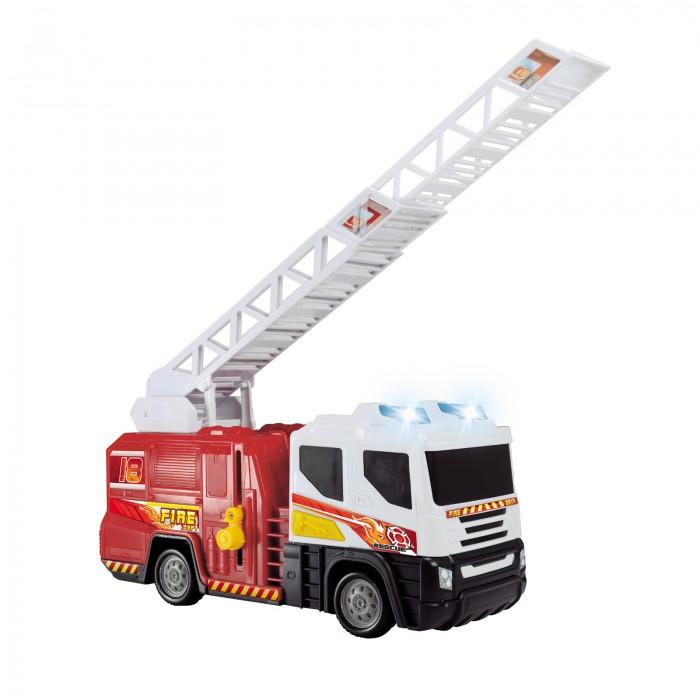 Машины Dickie Пожарная машина со светом и звуком 30 см набор playmobil пожарная служба пожарная машина со светом и звуком 28 см красный 5363