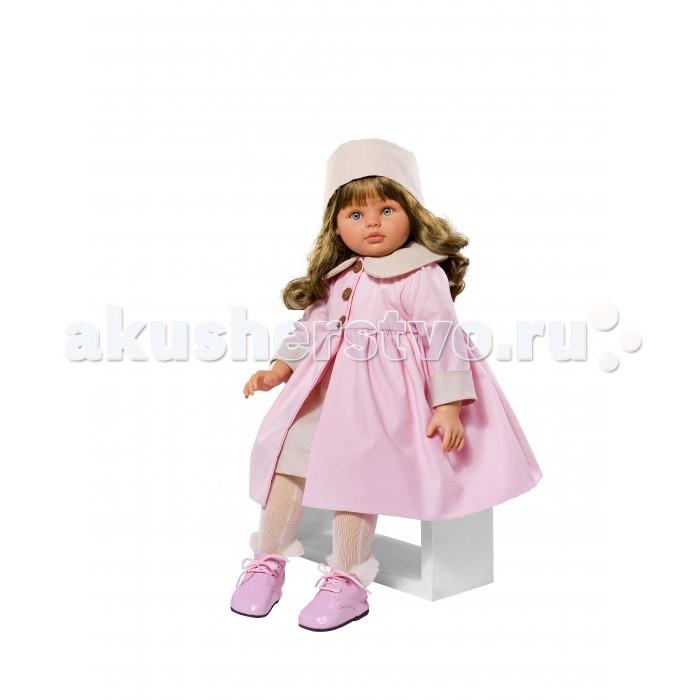 ASI Кукла Пепа 60 см 283350Кукла Пепа 60 см 283350ASI Кукла Пепа 60 см 283350 Густые темные  волосы, огромные голубые глаза с пушистыми ресницами, розовые пухлые губки - от куклы невозможно оторвать взгляда! Руки, ноги и голова испанской куклы выполнены из твердого винила, а тело мягконабивное. Это придает ей легкости и подвижности.   Пепа одета в розовое пальто, шапочку и красивые ботиночки.Ваш ребёнок будет в восторге от этой куклы!  Особенности:  кукла ASI сделана очень качественно.  Без запаха.   Используется безопасный твердый винил.  Видна прорисовка мельчайших подробностей тела, рук и ног.<br>