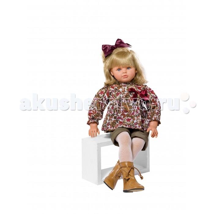 ASI Кукла Пепа 60 см 283400Кукла Пепа 60 см 283400ASI Кукла Пепа 60 см 283400 просто красавица - является воплощением всех детских фантазий.   Кукла большая.Но при этом невероятно легкая и пластичная. Она принимает естественные положения. Сидит в коляске и на стульчике. У Пепы шикарные светлые волосы, уложенные в аккуратные кудри. Делать прически этой кукле - сплошное удовольствие! Волосы, как натуральные, мягкие и блестящие, не путаются, потому, что содержат всего 50% синтетики!   Пепа выглядит очень красиво в цветной курточке и шортах с колготками.На ногах у Пепы красивые сапожки!Кукла упакована в красивую подарочную коробку!  Особенности:  Пупсик ASI сделан очень качественно.  Без запаха.   Используется безопасный твердый винил.  Видна прорисовка мельчайших подробностей тела, рук и ног.<br>