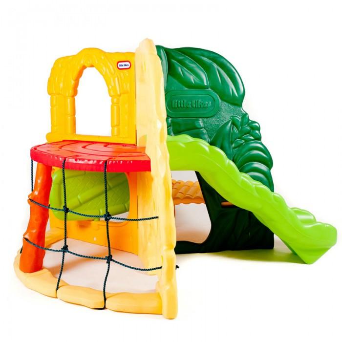 Little Tikes Игровой комплекс ДжунглиИгровой комплекс ДжунглиLittle Tikes Игровой комплекс Джунгли.  Игровой комплекс с волнообразной горкой, лазами на уровне земли и сетчатой стеной является не только хорошим развлечением для детей, но благотворно влияет на их физическое развитие.   Данный комплекс прослужит Вашим детям на протяжении нескольких лет. Конструкция разработана с таким расчетом, чтобы одновременно могли играть несколько человек.   При изготовлении комплекса применяется метод центробежного литья, что позволяет сделать его ударопрочным и устойчивым к перепадам температур. Выдерживает температуру до -18 С.<br>