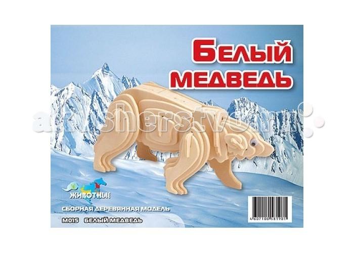 Конструкторы Мир деревянных игрушек (МДИ) Белый медведь