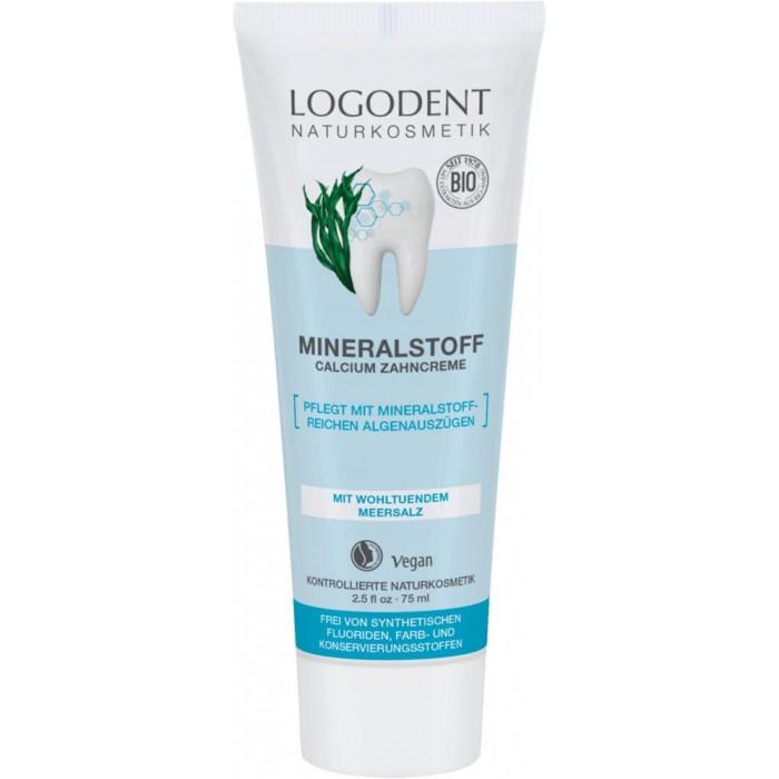 Гигиена полости рта Logona Logodent Минеральная зубная паста 75 мл logona восстанавливающее масло для волос 75 мл