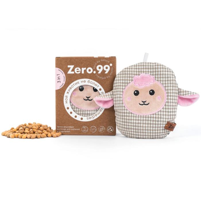 Грелки Zer0-99 Грелка-игрушка 3 в 1 с вишневыми косточками Oвечка лифчик с косточками для кормления