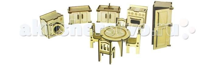 Конструкторы Wooden Toys Сборная модель Мебель для кухни мебель для кухни