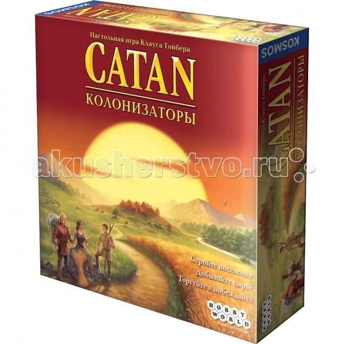 Настольные игры Hobby World Настольная игра Колонизаторы настольная игра настольная игра hobby world колонизаторы быстрая карточная игра 1072