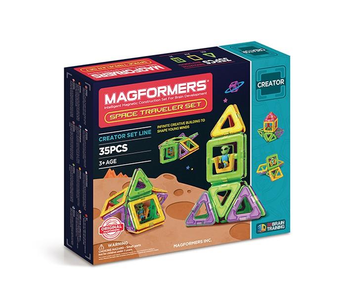 Конструктор Magformers Space Traveler set Магнитный 35 элементов