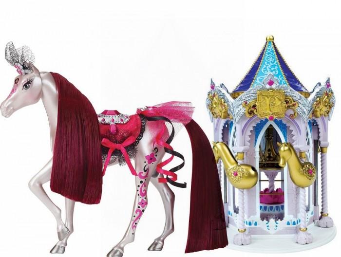 Pony Royal Набор Пони Рояль: карусель и королевская лошадь РозаНабор Пони Рояль: карусель и королевская лошадь РозаОчень яркая и стильная пони-принцесса Роза знает толк в моде. Цветом мерцающего серебра с яркими розовыми оттенками. ЕЕ месяц январь. Ее камень-талисман , украшающий лоб - гранат. У пони шикарная грива, которую можно менять, а также расчесывать.   С волшебной каруселью Pony Royale ваша пони-принцесса готова к выходу в свет. Волшебная карусель - это такой шкаф для хранения модных аксессуаров и драгоценностей вашей пони. Карусель компактно складывается для удобства хранения.   Волшебные Пони-принцессы «Pony Royale» уникальны тем, что они созданы с подчеркнутой женственностью и грациозностью, обычно присущими фешн-куклам. Сделанные из высококачественного пластика, они обладают подвижной головой, а их мягкие гривы и хвосты можно расчесывать. Играя с этими красивыми и изящными лошадками, девочки могут почувствовать себя принцессами, которые заботятся о своих волшебных пони.  В наборе: пони-принцесса Роза, Карусель для нарядов, дополнительные грива и хвост, расческа для укладки гривы и хвоста, 1 юбка.   Рост пони 16.5 см.<br>