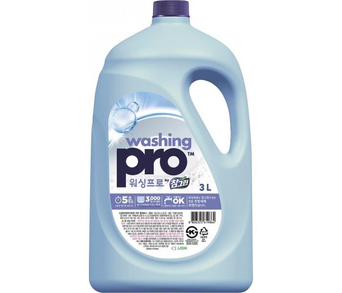 Бытовая химия CJ Lion Средство для мытья посуды Washing Pro 3000 мл lion лион очарование экстра чистота средство для мытья посуды флакон 380 мл