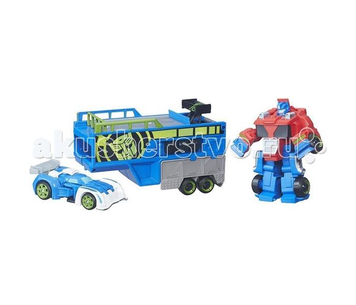 Transformers Heroes Трансформеры Спасатели: Гоночный комплектHeroes Трансформеры Спасатели: Гоночный комплектИгровой набор Heroes Гоночный комплект от всемирно известной компании Hasbro - отличный выбор для каждого маленького поклонника Трансформеров!   В комплект входят 3 предмета: мощный робот, способный трансформироваться в грузовик-перевозчик, машинка с реверсивным механизмом и трамплин, с которого можно ее запускать.   С таким набором ребенок сможет затеять увлекательную сюжетно-ролевую игру, придумывая собственные приключенческие истории про роботов!   Игрушка выполнена из высококачественных материалов, она прочная и долговечная.<br>