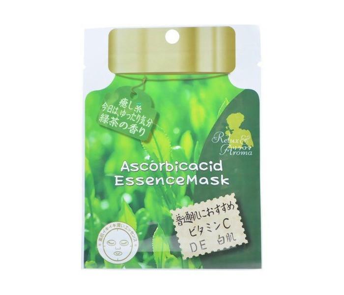 Косметика для мамы Hadariki Маска для лица с Аскорбиновой кислотой 20 мл lierac премиум маска с гиалуроновой кислотой 75 мл premium