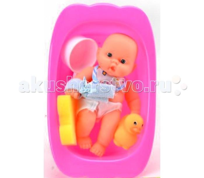 Куклы и одежда для кукол Veld CO Пупс с ванночкой пупс