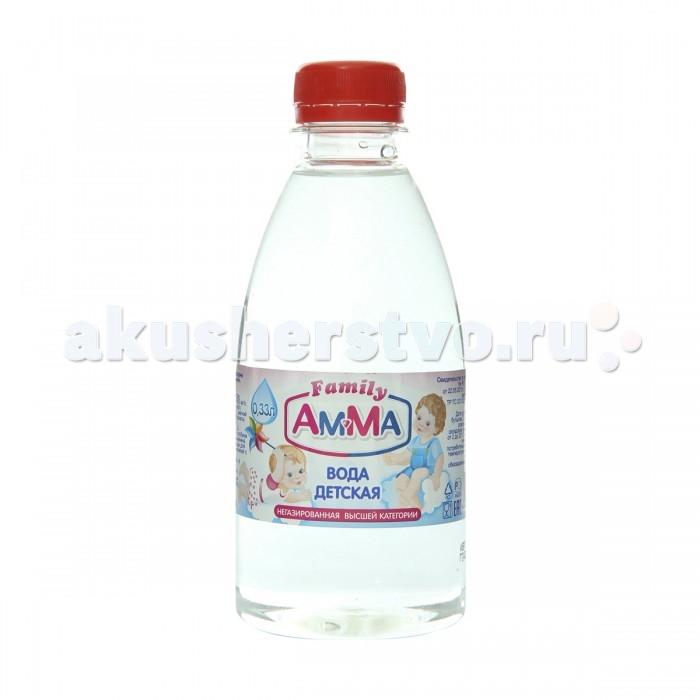 Вода Amma Вода питьевая негазированная 0.33 л вода жемчужина байкала 0 5 л спорт негазированная упаковка 12 шт
