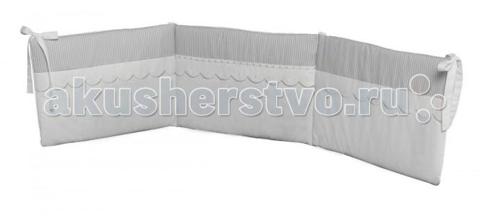Бортик в кроватку Micuna Neus 140х70Neus 140х70Micuna Бортики: комфорт и элегантность   Коллекция текстиля для детской комнаты от испанской компании Micuna создана из натурального хлопка самой тонкой выделки. Нежная, гипоаллергенная ткань благоприятна для кожи малышей. Она легко стирается и быстро сохнет. Наполнитель мягких бортиков – холлофайбер – состоит из пустотелых полиэстеровых волокон, скрученных в форме пружин. Обеспечивает лучшую, чем синтепон, теплоизоляцию и меньше слёживается. Текстиль Micuna – гарантия настоящего качества.   Основные характеристики:  мягкие бортики в изголовье детской кровати;  материал: 50% хлопок, 50% полиэстер;  наполнитель: холлофайбер;  гипоаллергенные материалы и краски;  идеально подходят для кроватки Micuna 120х60.<br>