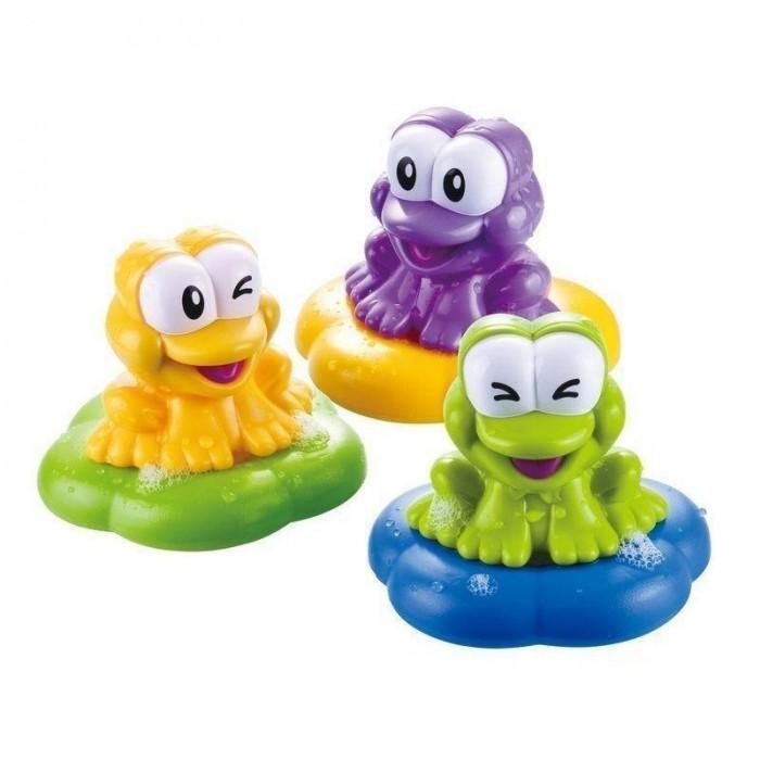 Игрушки для ванны B kids Игровой набор для купания Веселые лягушки b kids игровой набор для купания баскетбол