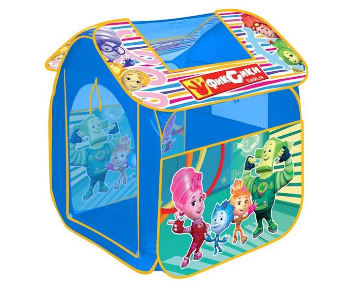 Палатки-домики Играем вместе Дисней игровая палатка Фиксики 83х80х105см