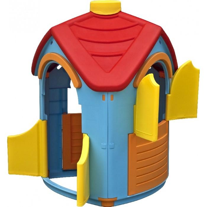 Palplay (Marian Plast) Игровой домик Вилла 660Игровой домик Вилла 660Домик Вилла – уникальная игрушка. В нем ребенок становится хозяином собственного «сказочного мира».    В процессе игры малыш примеряет на себя различные социальные роли, тем самым происходит первичный процесс адаптации Когда ребенок играет с друзьями, у него улучшается коммуникативный процесс, что также важно для будущей жизни.   Домик сделан из качественного пластика. Имеет красочный дизайн, имитирующий «реальный дом». Удобная конструкция позволяет легко собирать домик, а также без труда размещать его как в квартире, так и на природе. Домик Вилла- приятный и оригинальный, принесет радость и восторг ребенку.  Размеры: 95x102x126<br>