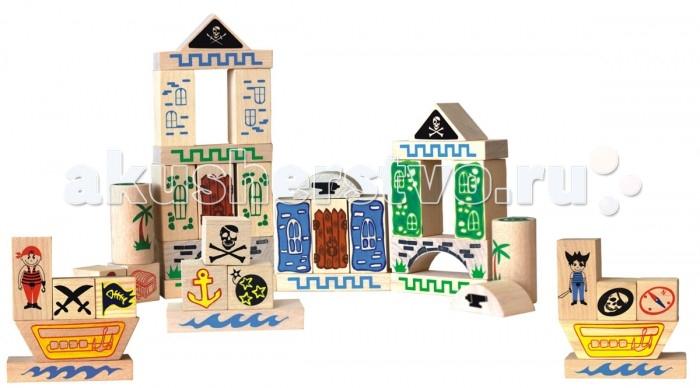 Конструкторы Краснокамская игрушка Пираты 40 деталей